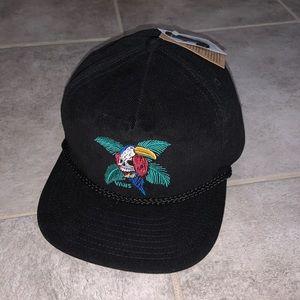 NEW Mens Vans Hobart Unstruct Skull Parrot Hat Cap
